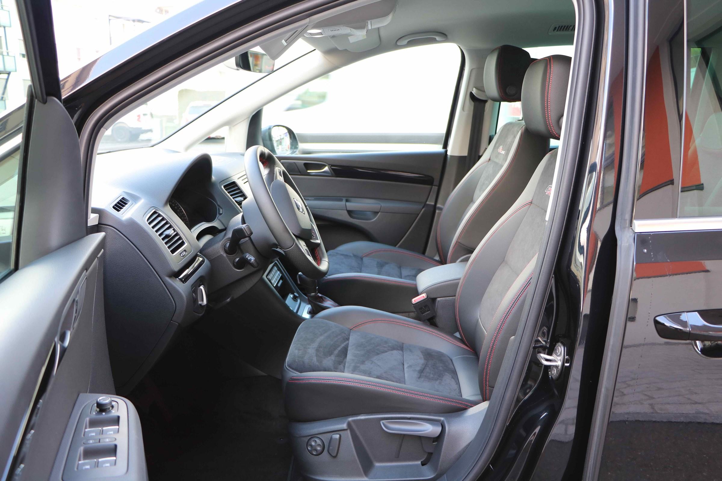 SEAT Alhambra 2.0TDI voll