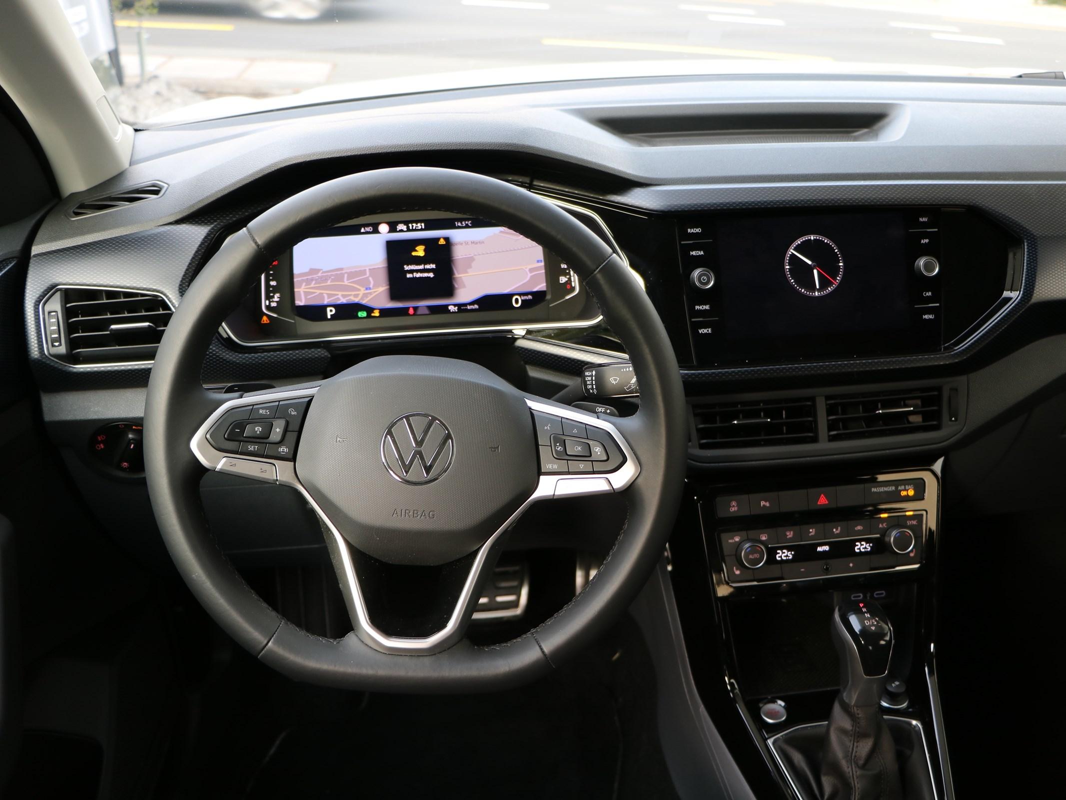 VW T-Cross 1.0 TSI voll